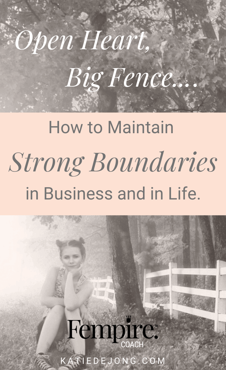 There's a definite 'art' to setting and maintaining healthy boundaries and it's not always easy. In fact, it's very challenging. Discover my 5 strategies to help practice the art of setting healthy boundaries so that you can guard your emotional well-being and sanity, and be the best version of yourself. #fempire #fempirecoach #entrepreneur #womeninbusiness #womensupportingwomen #boundaries #relationships #selfcare #selflove #personalgrowth