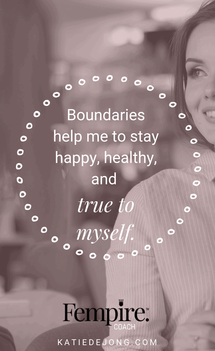 We all need healthy, strong boundaries in both our business and in our life, in order to protect our own sanity and well-being. Discover how to identify when your boundaries have been crossed and what you can do to keep yourself balanced and grounded. #fempire #fempirecoach #entrepreneur #womeninbusiness #womensupportingwomen #boundaries #relationships #selfcare #selflove #personalgrowth