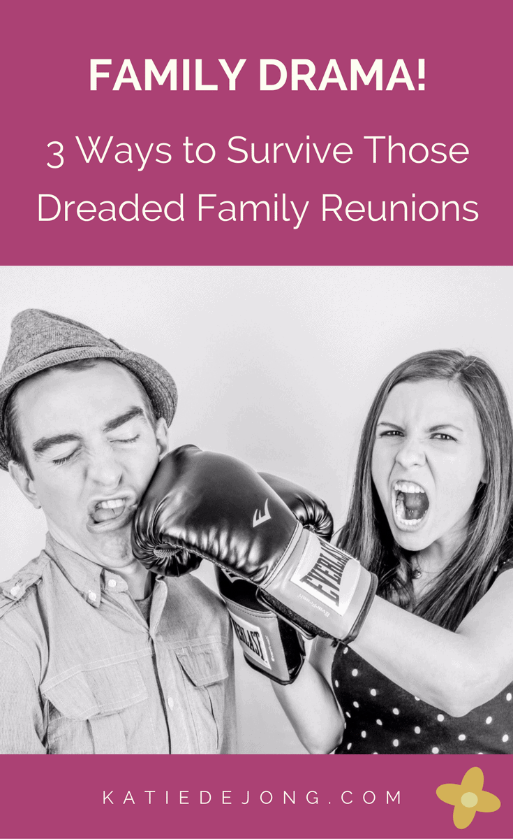 Do you dread or look forward to your family reunions? If it's the latter, read on to find out three ways to make the experience more enjoyable for yourself. #familyreunions #difficultrelationships #familydrama no #stress no #conflicts #peace #family #selflove #selfcare