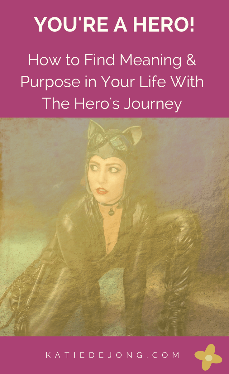 How to find purpose and meaning in your life with Joseph Campbell's archetypal template of The Hero's Journey. Read on to discover how this template changed my life! #herosjourney #josephcampbell #purpose #meaning #theherosjourney #findyourpurpose #findmeaning #writing #storytelling #myth #archetypes