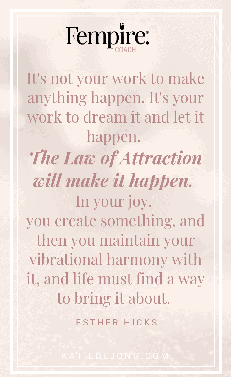 Discover how the Law of Attraction ACTUALLY works and start manifesting greater levels of joy and flow in your biz and life! #lawofattraction #dreambig #dreambelieveachieve #manifestation #motivation #inspiration #inspirationalquotes #motivationalquotes #business #entrepreneur #mindset #success #tips #steps #career