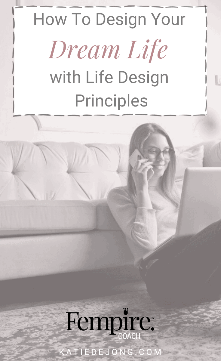 Are you feeling stuck, disillusioned, or frustrated in your career or business? Harness the power of Life Design Principles to get yourself unstuck and loving your work! #fempire #fempirecoach #careeradvice #lifedesign #findyourpurpose #purpose #womeninbusiness