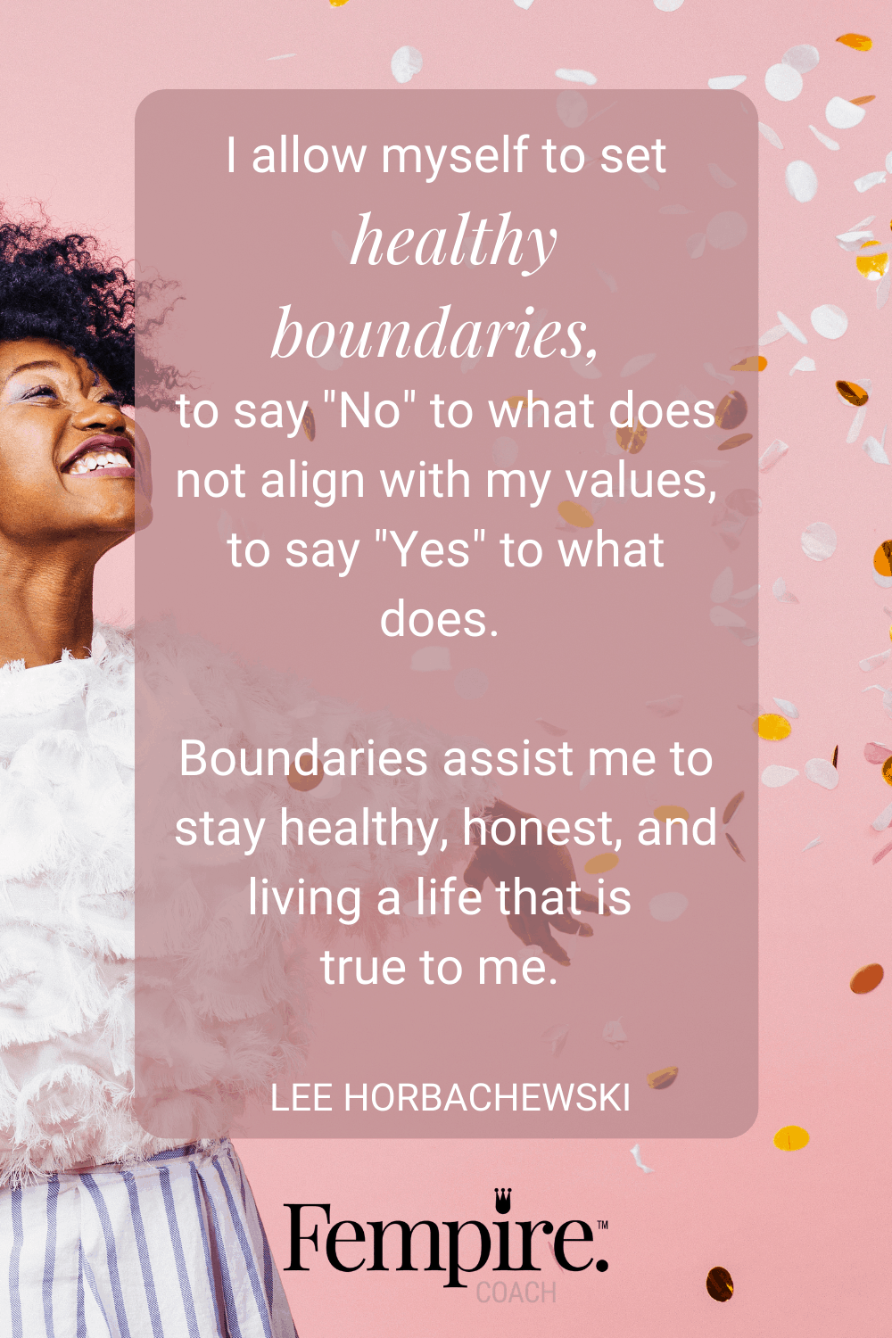 As much as we love our families, they're often the ones who can trigger the biggest emotional responses in us and we need to have strong, healthy boundaries to maintain our well-being. Read on to discover my tips for instilling strong personal boundaries. #fempire #fempirecoach #stroungboundaries #healthyboundaries #womensupportingwomen #boundaries #relationships #selfcare #selflove #personalgrowth