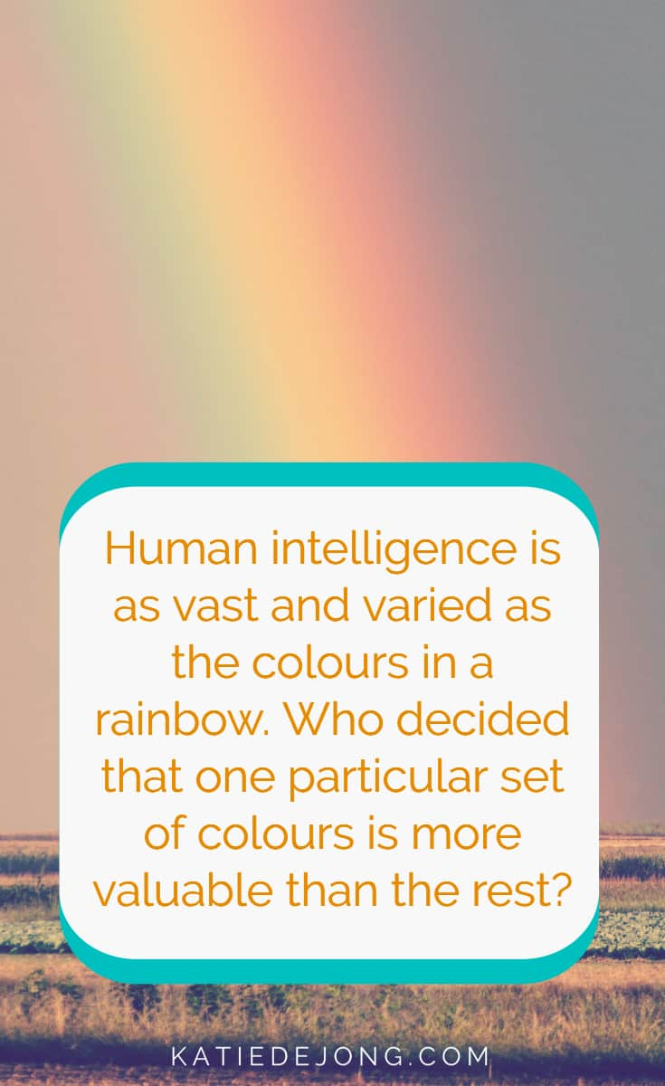 Human intelligence is vast and varied. There are so many different forms of intelligence. Who decided that one particular form of intelligence is more valuable than the others? Why do we value certain types of intelligence over others? In this article, thanks to cutting edge research at Yale University, we bust the myth of IQ tests and outline what it really takes to succeed. #IQ #intelligence #intelligencetests #intelligencequotient #successmindset #theperilofIQtests #IQtests #grit #perseverance #determination #attitudeiseverything #genius #zoneofgenius #strengths #strengthstests #strengthsfinder