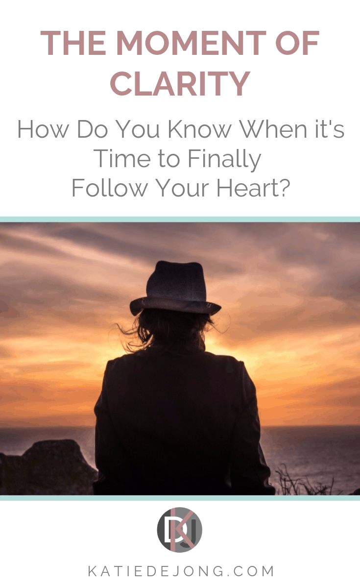 How do you know when it's time to give up the struggle and follow your heart? Is there ever a good time? Find out about the moment I knew it was time to finally take the leap of faith and turn my life around #findyourpurpose #purpose #followyourheart #followyourbliss #livefromyourheart #careerchange #bestcareeradvice #careeradvice #lifelessons #healing #selflove #bethechange #innerwork #mindset #shineyourlight #liveyourdreams #positivityrules #authenticity #listentoyourheart #dreambelieveachieve