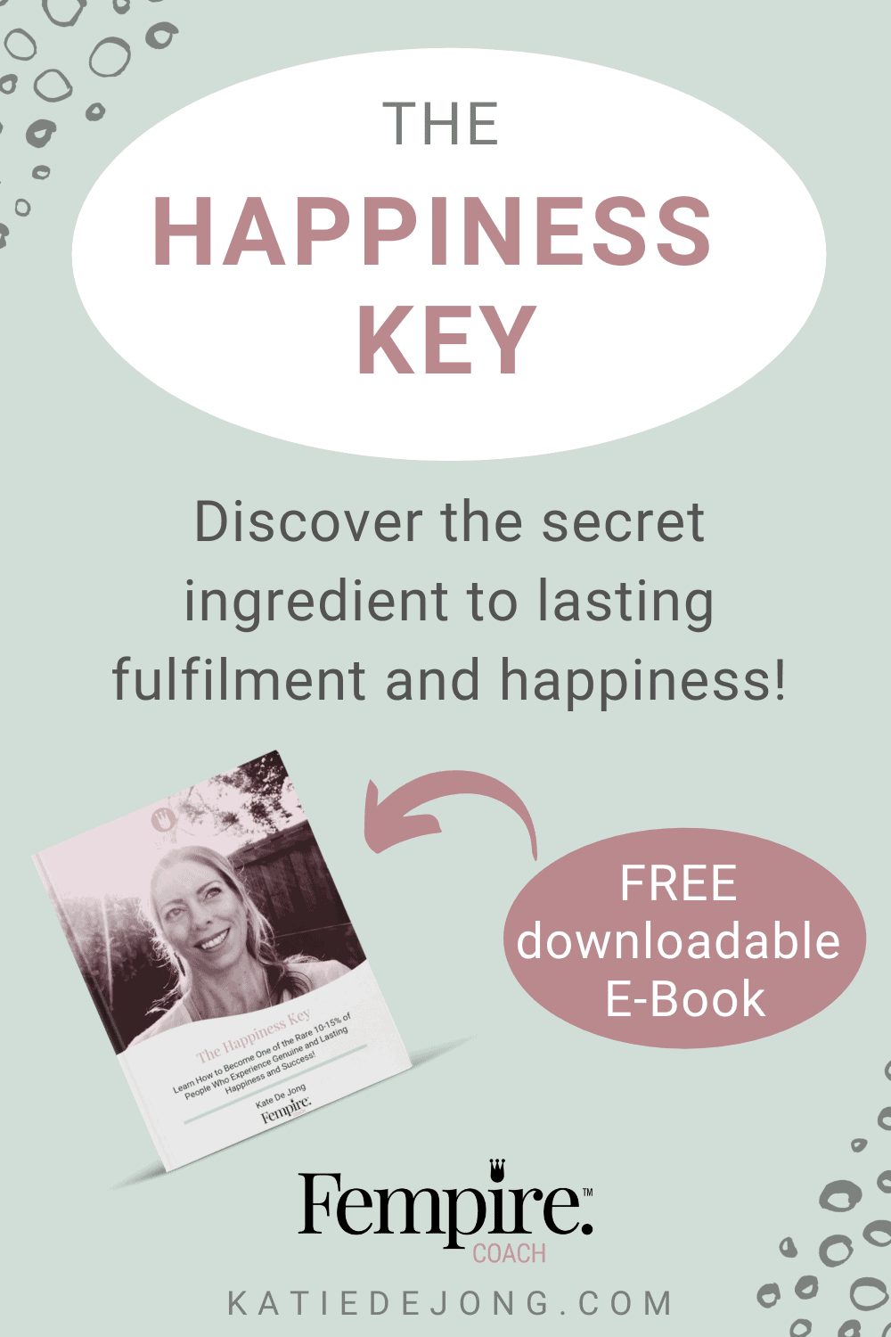 The Happiness Key shares the key ingredient of happiness that only 10-15% have mastered! You'll be guided through a process to get to know yourself at a much deeper level and find greater levels of happiness as a result. #happiness #personalgrowth #personaldevelopment #personalitytests #enneagram #myersbriggs #discprofile