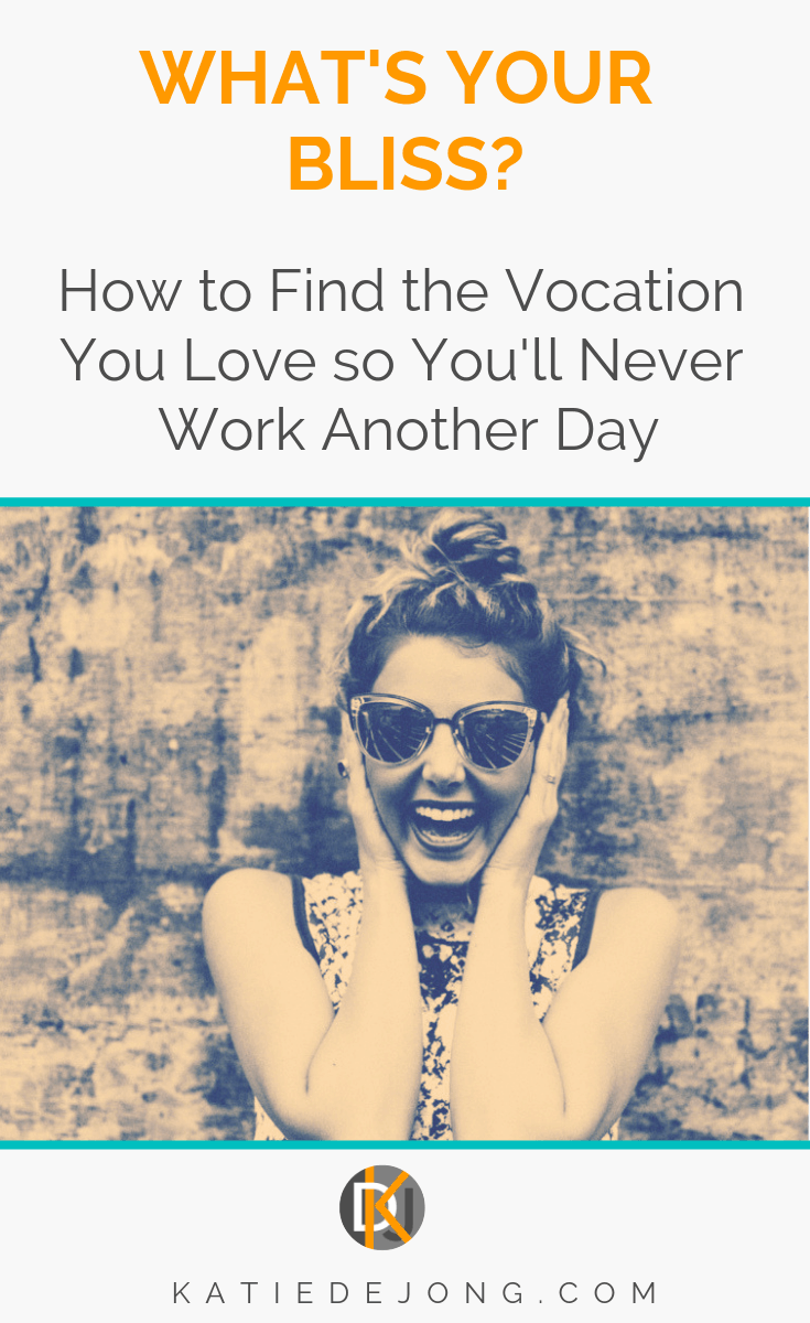 What's Your Bliss? How to Find the Vocation You Love So You
