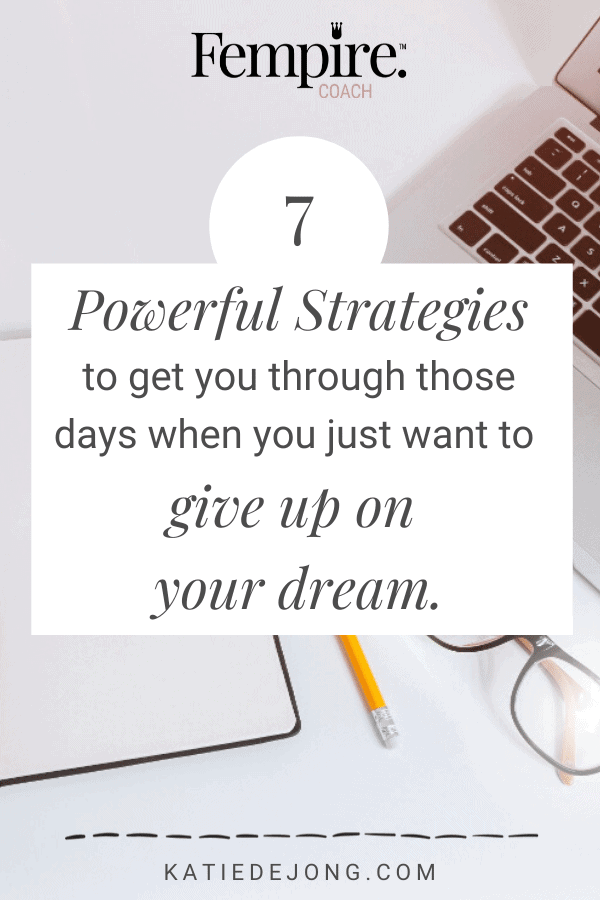 Read on to discover my top strategies to help you next time you inevitably hit your next entrepreneurial dip! #entrepreneurship #smallbusiness #resilience #perseverance #grit #ladybosses #fempire #fempirecoach #businessstartup #startuplife #bossbabes #businesswomen #womeninbusiness #womensupportingwomen #entrepreneurlife