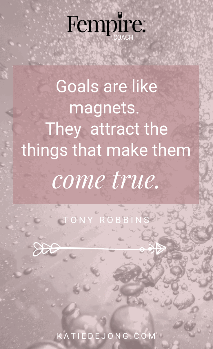 As a business owner, it's essential that you set goals to help you achieve your vision. Without goals, you're flying blind. However, your goals have to make you feel really excited and inspired. Read on to discover 6 easy steps to developing heart-centered goals that feel really good AND help you consistently hit your revenue goals! #fempire #fempirecoach #goalsetting #smallbusiness #womeninbusiness #womensupportingwomen #ladybosslife #entrepreneurlife #entrepreneurship #heartcenteredgoals #womeninbiz #womenempowered #girlbosses #businesschicks