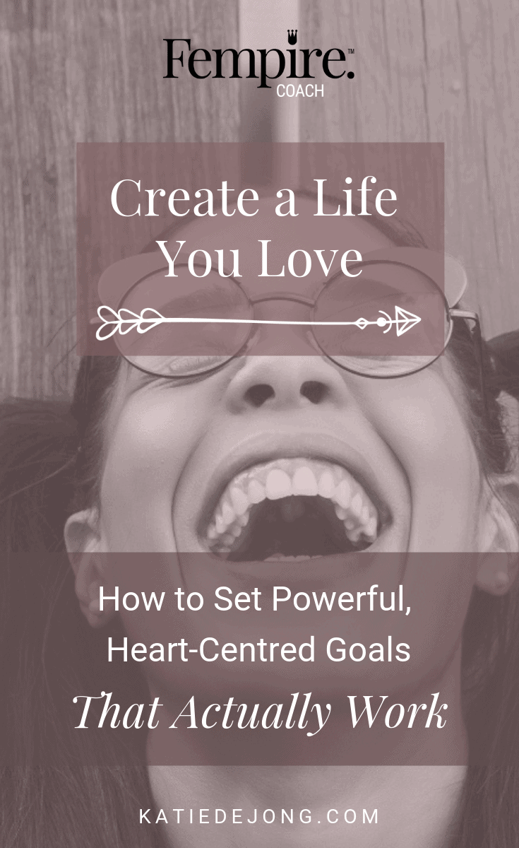 Do you have clear goals in place that allow you to intentionally work towards the future you desire? Do your goals feel really good and heart-centered? Read on to discover 6 easy steps to developing heart-centered goals that actually work! #fempire #fempirecoach #goalsetting #smallbusiness #womeninbusiness #womensupportingwomen #ladybosslife #entrepreneurlife #entrepreneurship #heartcenteredgoals #womeninbiz #womenempowered #girlbosses #businesschicks