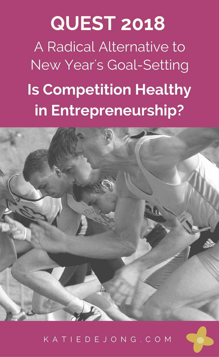 Can competition be healthy in entrepreneurship? #WeQuest #BestYear #CompetitionCommunity
