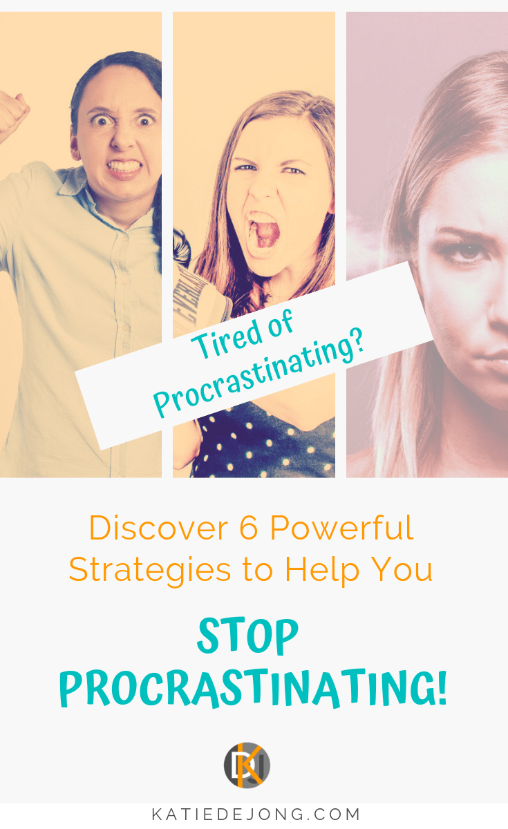 If you struggle to get onto the important things that you know you need to do on a regular basis, these 6 powerful strategies will help you to overcome the procrastination monster and start producing your best work. #stopprocrastinating #procrastination #procrastinating #effectiveness #productivity #efficiency #motivation #inspire #empower #liveyourbestlife