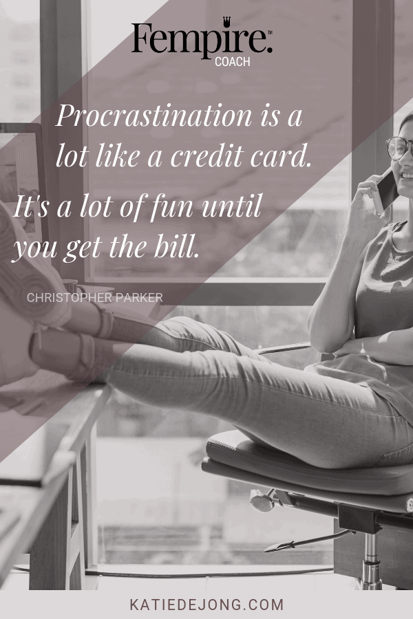 Are you letting procrastination steal your dreams? Learn these 6 strategies to overcome the procrastination demons and start achieving every milestone you need to thrive in business and life #stopprocrastinating #procrastination #productivity #efficiency #workefficiency #dreambelieveachieve #dreambelieveachieverepeat #liveyourbestlife #ladybosses
