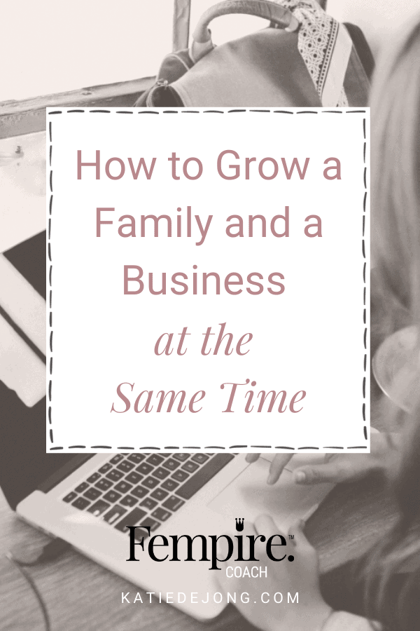 Are you trying to raise children while also growing a business? You've taken on the ultimate challenge! Kudos to you. Discover 5 strategies to help you navigate the ups and downs of this challenging ride. #entrepreneur #motherhood #workingfromhome #mompreneur #mumpreneur #womeninbusiness #workingmothers #workingmoms #fempire #fempirecoach #ladyboss #businesscoach #solopreneur #success #successmindset #laptoplifestyle
