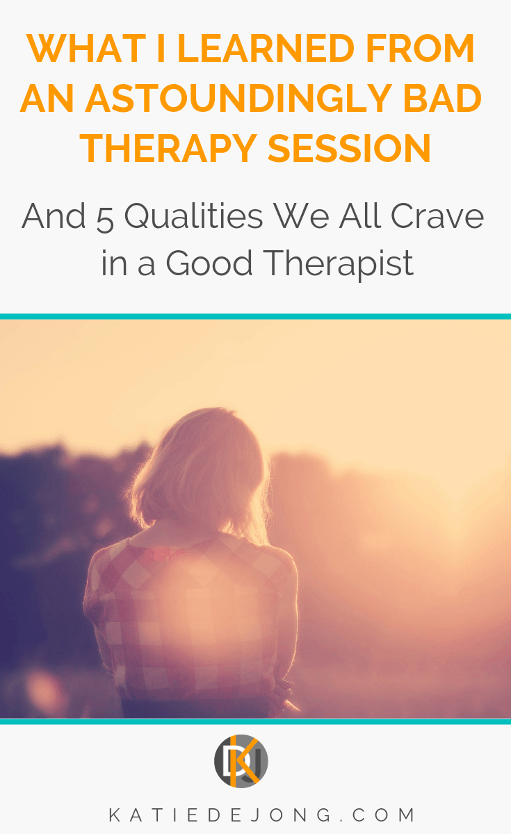 Have you ever had a therapy session where you've come out feeling worse than when you went in? Here's my story of a bad therapy session and the 5 things we're all actually craving in order to heal and move forward #therapy #badtherapy #goodtherapy #counseling #healing #coaching #lifecoaching #kindness #kindnessheals