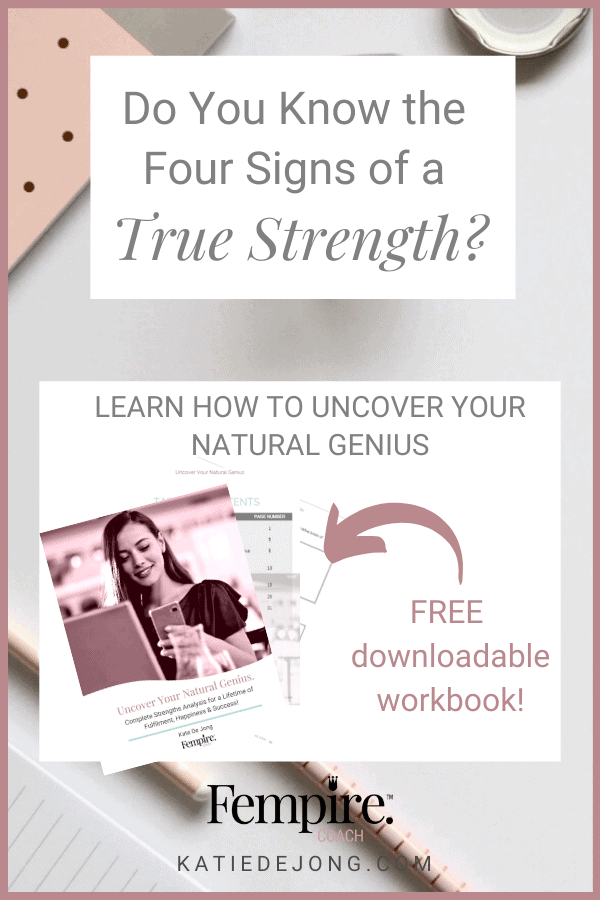 It's critical to know your unique strengths as an entrepreneur because it's the key to success. In this value-packed, FREE workbook, I guide you through specific exercises to uncover your specific zone of genius. Get your copy now! #businesscoaching #businessgrowth #entrepreneur #beyourownboss #careerpathsforwomen #careerideas #purpose #careerchange #careerplanning #bestcareeradvice #inspiration #motivation #strengths #strengthsanalysis #personalgrowth #professionaldevelopment #zoneofgenius