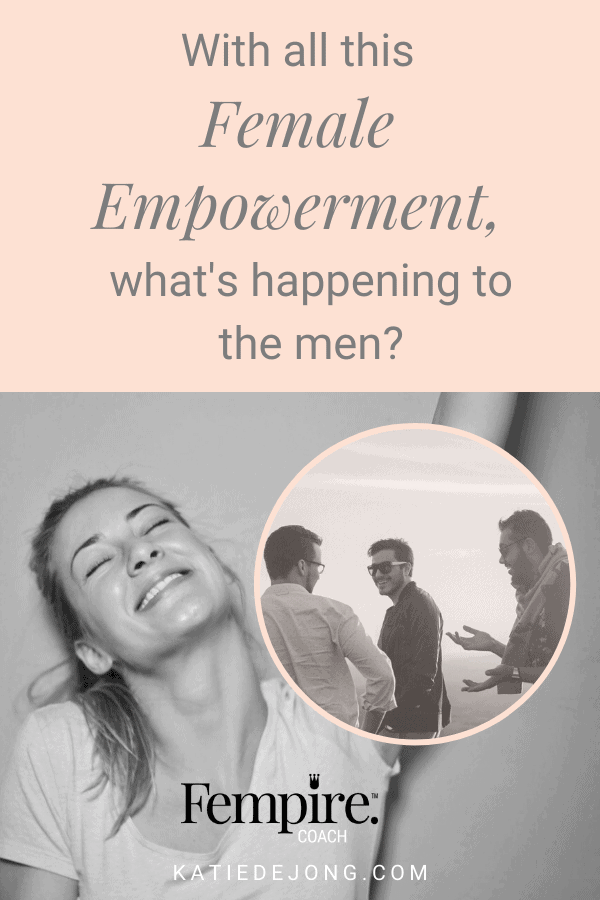 It's easy for men to feel threatened in this new era of female empowerment, but read on to discover why we need men now more than ever! And how women's empowerment is simply about restoring balance, not about overtaking or dominating anybody - and it's been proven to be good for everyone. #fempire #fempirecoach #smallbusiness #entrepreneur #entrepreneurship #ladyboss #womeninbusiness #businesscoach #solopreneur #mindset #successmindset #worksmarternotharder #laptoplifestyle #workfromhome