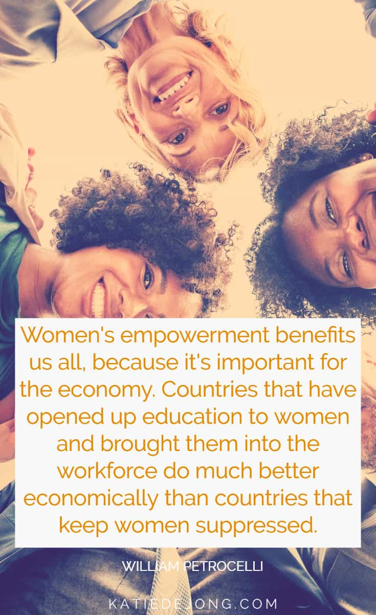 There are so many reasons why women's empowerment is good for everyone - read on to discover how and why we must achieve gender equality worldwide, and how to support our men through this process. #equality #genderequality #femaleempowerment #ladybosses #fempire #fempire #secretwomensbusinessacademy #smallbusiness #womeninbusiness #womensupportingwomen #ladybosslife #entrepreneurlife #entrepreneurship #entrepreneurial #womeninbiz #womenempowered #girlbosses #businesschicks #businesswomen #womeninbizaustralia #entrepreneurlife #entrepreneurship #dreambelieveachieve #dreambelieveachieverepeat #inspiration #womensupportingwomeninbusiness #businesschicks