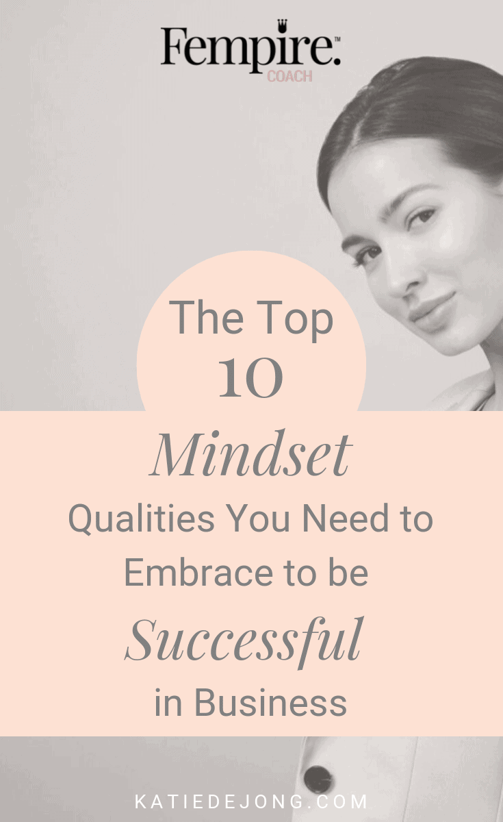 Building your own business is hard - but it's also one of the most rewarding and fulfilling things there is! There are certain mindset strategies you need to embrace in order to succeed in business which I've discovered after 6 years of building my own coaching practice. Read on to discover what they are! #mindset #success #marketing #fempire #smallbusiness #businesscoach #businesscoachforwomen #entrepreneur #womensupportingwomen