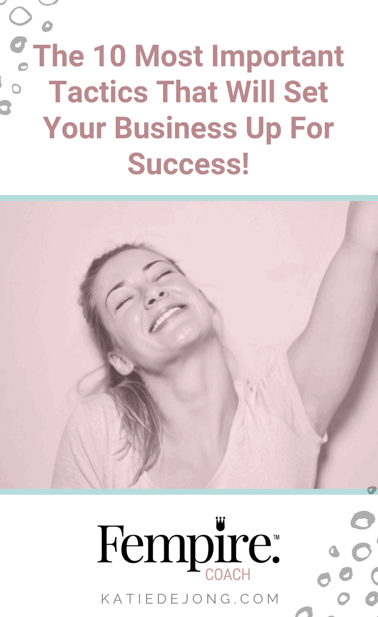 There's no silver bullet or magic pill that will miraculously generate business success for you overnight, but if you take the time to implement these 10 strategies and do them well, you will succeed in business! #ladybosses #fempire #fempirecoach #fempireinternational #smallbusiness #womeninbusiness #womensupportingwomen #ladybosslife #entrepreneurlife #entrepreneurship #entrepreneurial #womeninbiz #womenempowered #girlbosses #businesswomen #womeninbizaustralia #entrepreneurlife #entrepreneurship #dreambelieveachieve #dreambelieveachieverepeat #inspiration #womensupportingwomeninbusiness #businesschicks #businesschicksaustralia