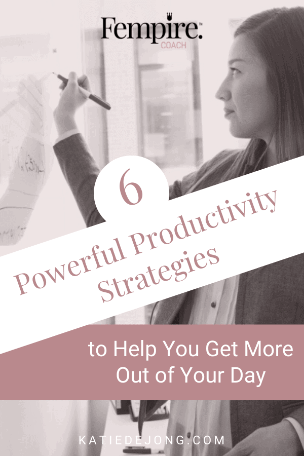 The number one skill that differentiates successful entrepreneurs from the rest is their ability to effectively manage their time in pursuit of their business goals. Read on to discover my Golden Rules of productivity that will help you maximise what you can achieve each and every day. #productivity #timemanagement #goals #goalsetting #successstrategies #successmindset #worksmarternotharder #entrepreneurmindset #fempire #fempirecoach