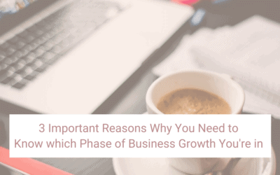 The 6 Stages of Business Growth – and 3 Important Reasons Why You Need to Know Which One You're in.