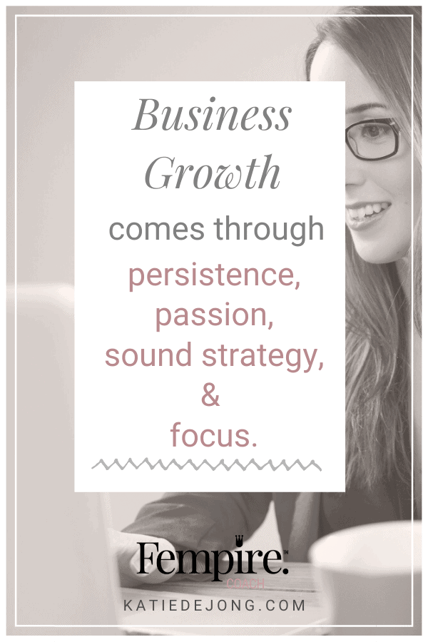 While being in business for yourself is wonderful, the reality is that it's not an easy journey. It's critical to understand where you are in the process and what to focus on in each phase. Click to read more about the 6 stages of business growth so you can become and stay profitable! #fempire #fempirecoach #goals #goalsetting #entrepreneur #entrepreneurship #ladyboss #womeninbusiness #businesscoach #solopreneur #entrepreneurlife #entrepreneurmindset #successmindset #worksmarternotharder #laptoplifestyle #mompreneur #workfromhome