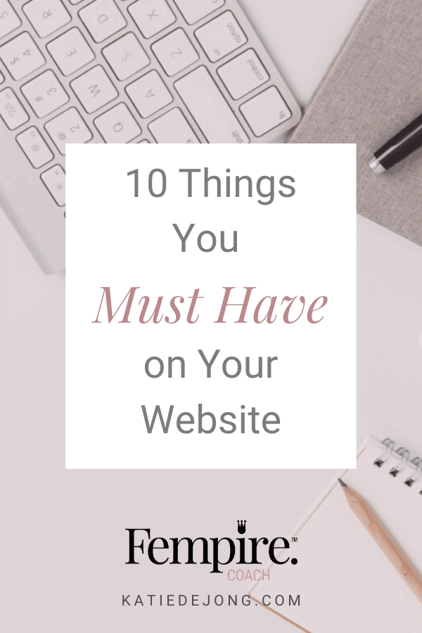 Don't allow your website to be 'just' a pretty brochure! It needs to be a high-converting client machine. Discover how with these ten essential strategies. #websites #businesscoach #fempire #fempirecoach #SEO #websitedesign #businesssuccess #workfromhome #laptoplifestyle #entrepreneur #womeninbusiness #ladyboss #smallbusiness #businessowner