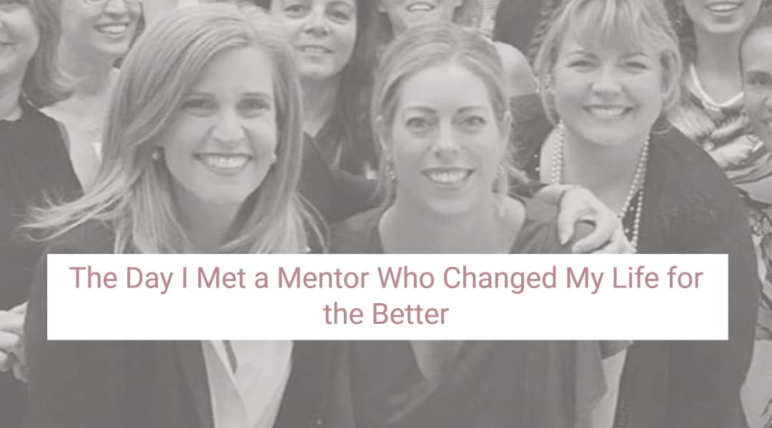 The Day I Met a Mentor who Changed My Life for the Better