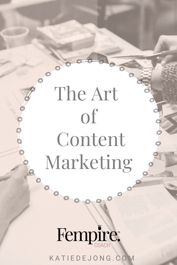 Content marketing is a powerful way to consistently build your brand's visibility and credibility over time. Read on to discover the 10 essential steps of developing a great content marketing strategy. #contentmarketing #fempire #fempirecoach #digitalmarketing #SEO #businesscoach #womeninbusiness #ladyboss #entrepreneur #marketing #content #businessgrowth #femalebusinesscoach