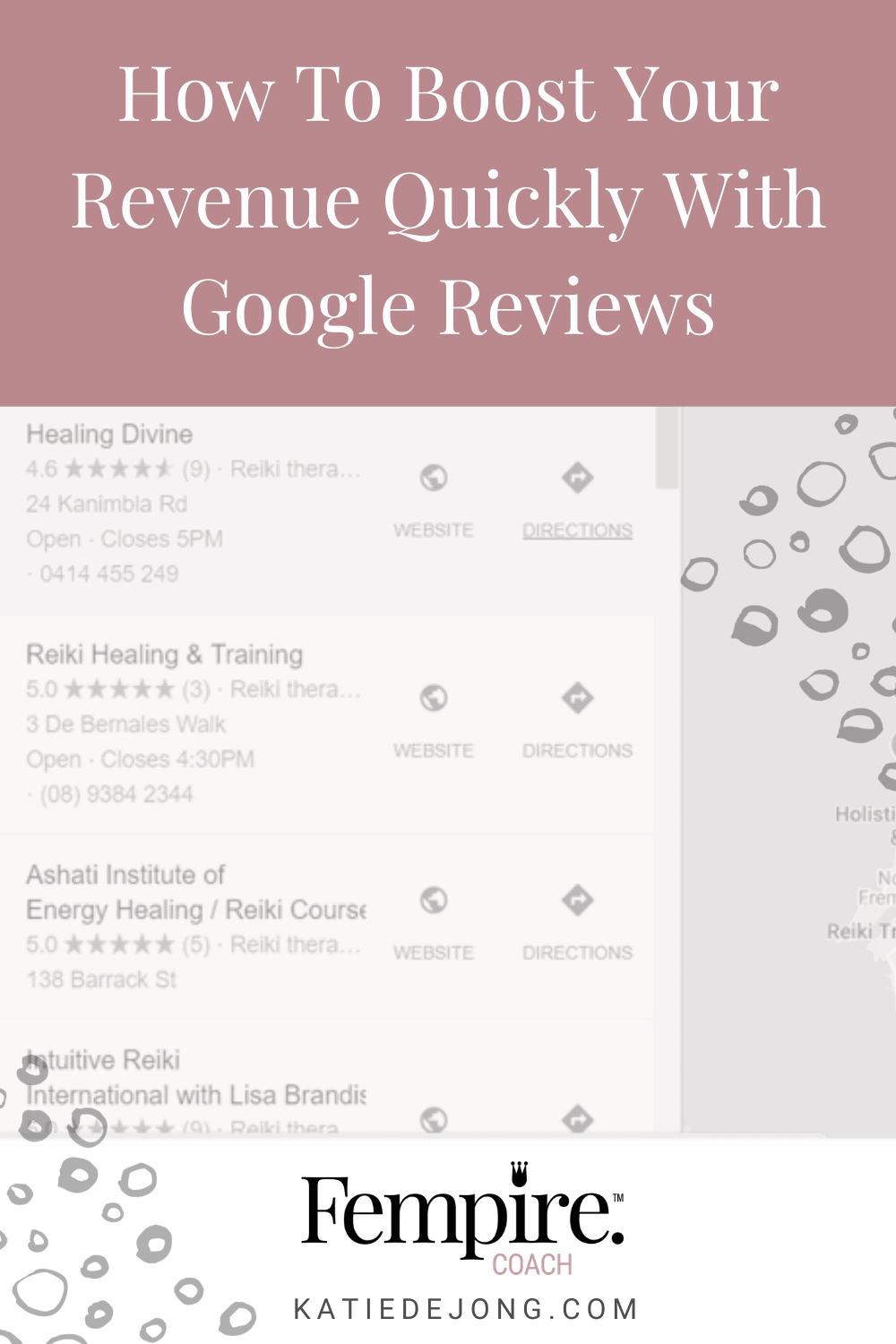 Google reviews are an easy way to get ranked highly in Google search results, above paid ads and SEO optimised sites. Discover how to use Google reviews to your advantage in this article!  #SEO #Google #GoogleAds #GoogleReviews #DigitalMarketing #Entrepreneur #Fempire #ladyboss #SEO #Google #GoogleAds #GoogleReviews #DigitalMarketing #Entrepreneur #Fempire #ladyboss