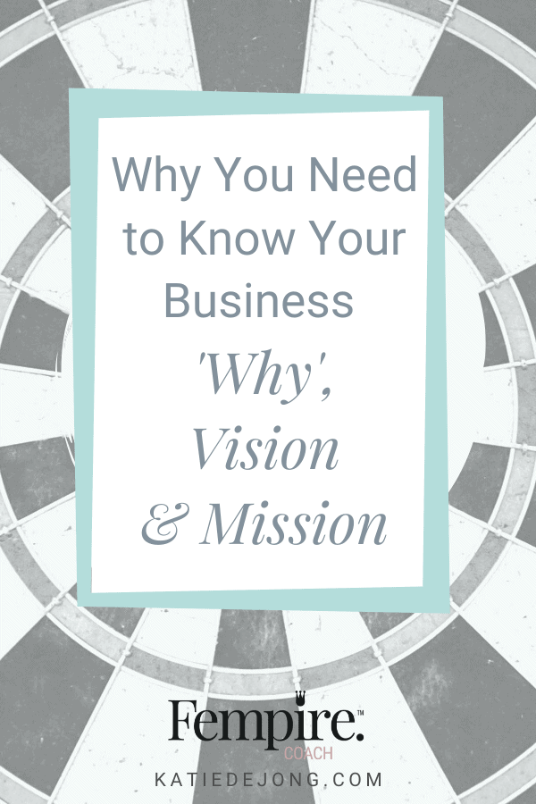 In order to attract your perfect clients to your business, you need to develop powerful 'why', vision, and mission statements. There's a key difference between these statements and they're used for different purposes. Read on to discover how. #fempire #fempirecoach #womeninbusiness #ladyboss #womeninbusiness #womensupportingwomen #marketing #marketingstrategy #smallbusiness #successmindset #entrepreneur #success #businessgrowth