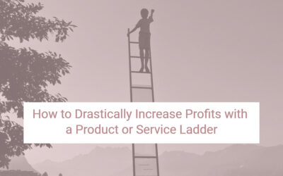 How to Drastically Increase Profits with a Product or Service Ladder