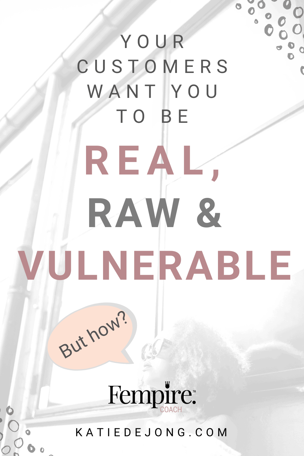 Your audience doesn't want polished, perfect marketing. They're craving more authenticity, depth and substance and less hype. Read on to discover why and how you can run a profitable business by being true to yourself. #authenticmarketing #authenticity #authenticbusiness #smallbusiness #businesscoach #fempire #fempirecoach