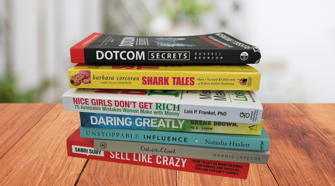 15 Great Books that Every Female Entrepreneur Needs to Read