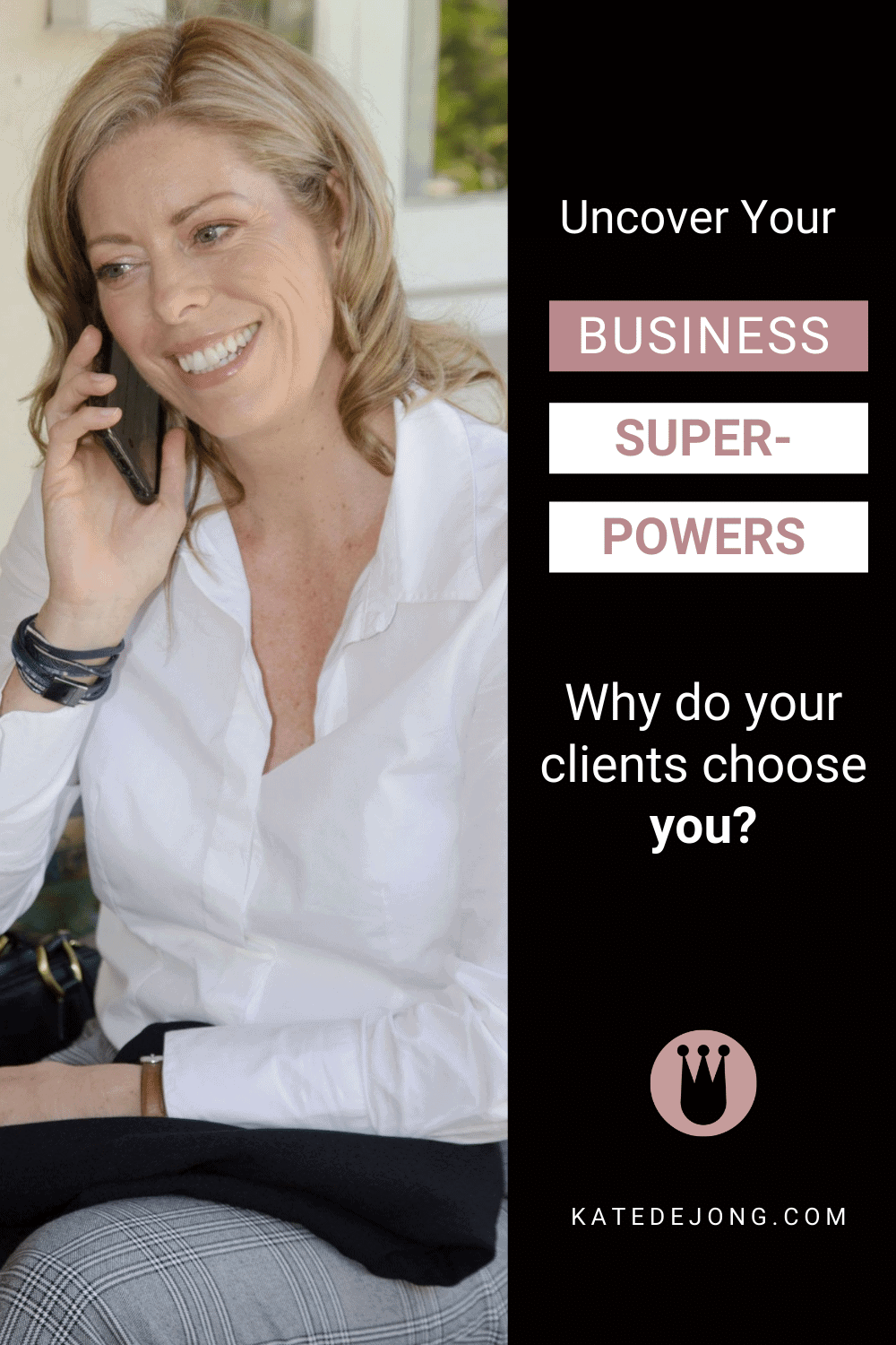 Are you comfortable telling your prospects about what makes you so good at what you do? Do you tell them why your clients choose you? If not, you need to! If you don't tell them, how are they meant to know how good you are? An easy way to convey your business excellence is through what I call your Business Superpowers. Read on to discover how you can figure out what yours are. #fempire #smallbusiness #businesscoach #businesscoachforwomen #entrepreneur #businessgrowth #growthstrategies